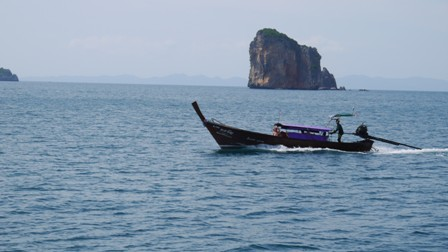 Longtail in Thailand