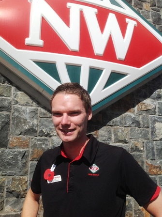 Manager Berend van New World